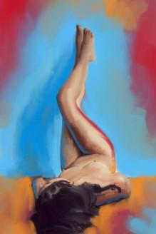 Beauty,Female,Lady,Women,Nude,Figure,Model,Pose,Body Language,The Passion,Body Art