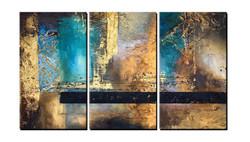 abstract, golden abstract, blue, gold, golden