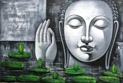 Buddha,Grey Shade Buddha,Peace,Meditaion,Nirvana
