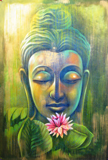 Green Buddha,Buddhism,Peace ,Meditation