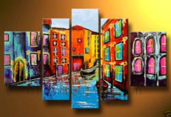 Clean & Crisp Morning - Handpainted Art Painting - 72in X 36in
