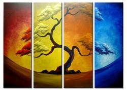 tree, multi piece tree, one tree