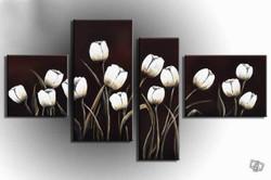 flower, flowers, blossom, bloom, white flower, multipiece flower