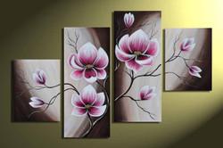 flower, flowers, violet flowers, white, blossom