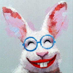 Hares, Animal,Happy Rabbit,Joy of Life