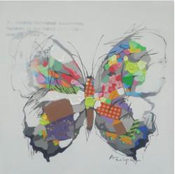 Butterfly,Multicolor Beauty, Garden Beauty,fluttering flight,brightly coloured wing