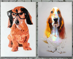 Dog,Dog pair,Puppy,Pet Animal,Dog Spread,Sweet Basset