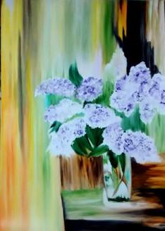 flower vase,Blue Flower,Bunch,Bouqute