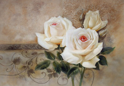 Flowers,Rose,Two Roses,Beautiful White Roses