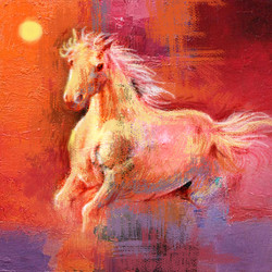 Horse,Red,Pink Shades,Horses,Ridder,Speed,White Horse