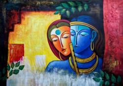 Krishna, lord krishna, radha, radha krishna, radha with krishna, flute, romance