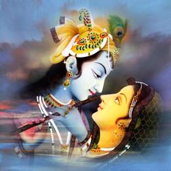 radha krishna , lord krishna,love, krishan, krishna with flute