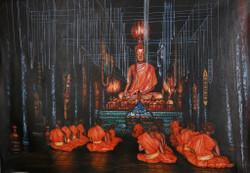 Buddha,Great Buddha,Buddhism,Buddha and Monk