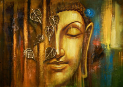 Contemplation - Buddha Meditates,Buddha,Buddhism,Peace,Meditation