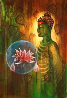 Buddha,Red Buddha,Meditation,Peace,Buddhism,Green Buddha