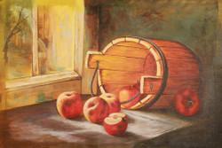 Apple,Still Life,Apple Basket,Red Apples,Fruit Basket