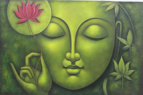 Shop Buddha Buddhist Lord Large Gautam Face Religious God