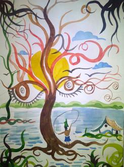 ART_SHLI,Illusion,Eye Effect,Tree