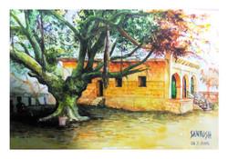 Temple,Landscape,Nature,Tree