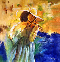 Playing Violin,Musician,Girl Playing Violin