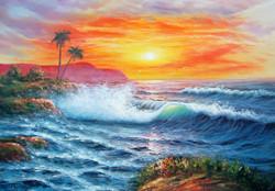 Landscape,Seascape,Nature,Sceenery,Sun,Coconut Tree,Sea Shore