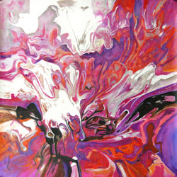 New Beginnings,Abstract,Shades ,non figurative art ,non objective ,nonrepresentational art