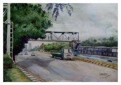 Bangalore, bridge, bridge in bangalore, cityscape