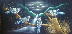 birds, two birds, blue birds, birds on tree,,white bird, little birds at night