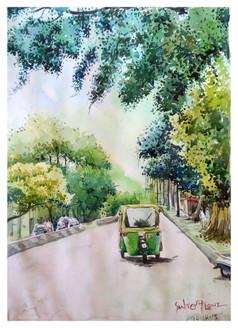 Landscape,Nature,Bangalore Constrast