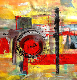 56ABT57 - 32in x 32in,56ABT57_3232,Community Artist Group,Museum Quality,Abstract, - 100% Handpainted