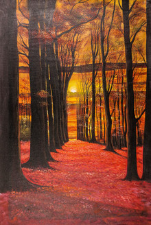 Landscape,Nature,walk way,Red Way,Tree