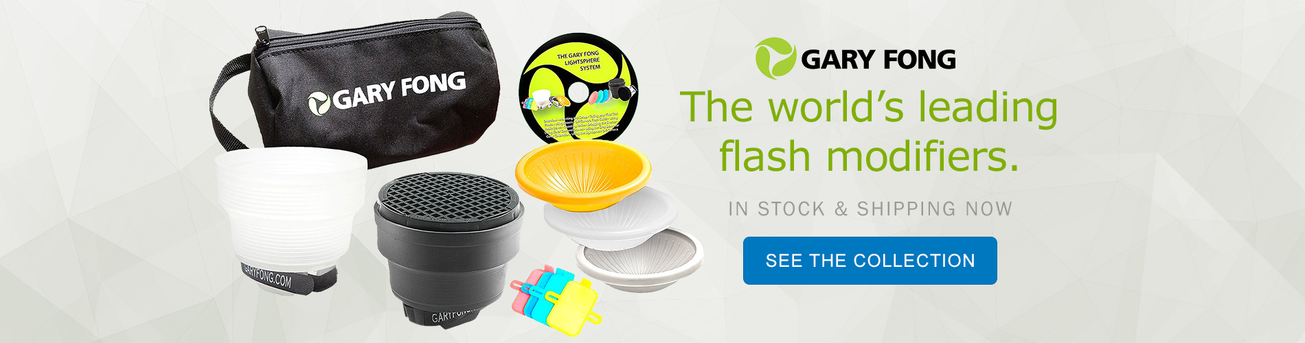 Gary Fong - The world's leading flash modifiers. In stock & shipping now. See the Collection.