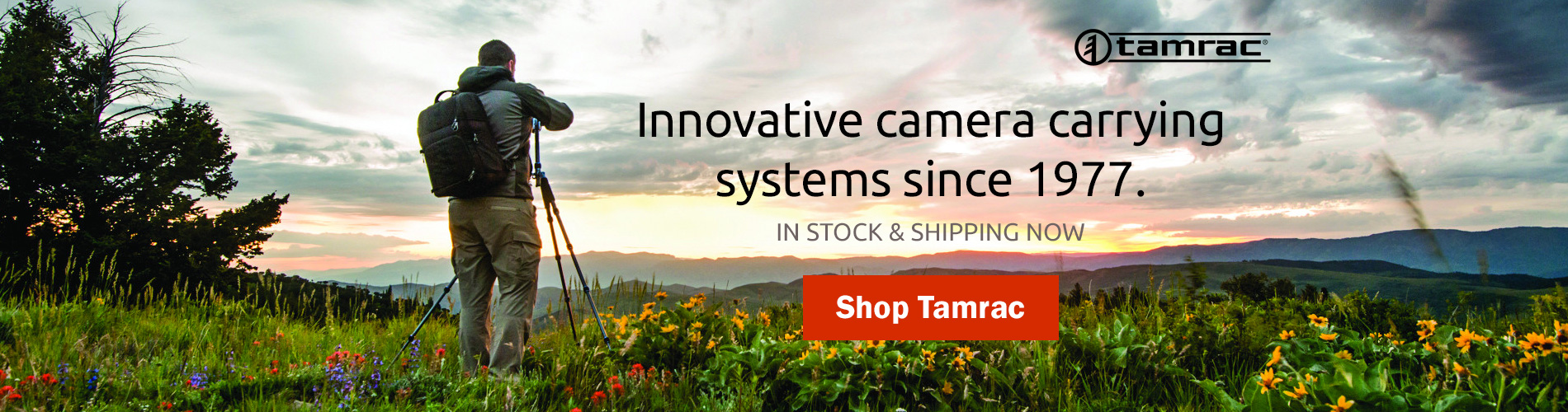 Tamrac Camera Bags - Innovative camera carrying systems since 1977. In stock and shipping now! Shop Tamrac >