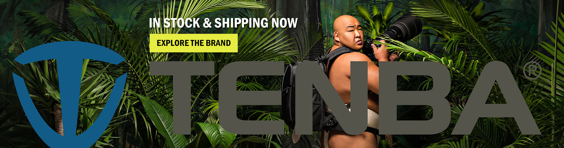 Introducing Tenba, In stock & shipping now! Explore the brand →