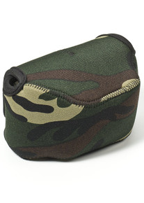 LensCoat BodyBag Large Zoom - Forest Green Camo