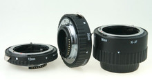 Phottix 3 Ring Auto Focus Macro Ext. Tube for Nikon (metal)