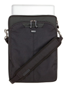 Slim laptop case carries everything you need without the bulk!