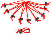 Pack of 10 Red Whips cable ties