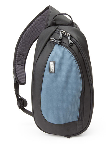 TurnStyle 10 camera sling bag and belt pack in Blue Slate