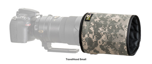 LensCoat TravelHood - Digital Camo