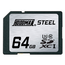 Hoodman Steel 64GB SDXC UHS-1 Card