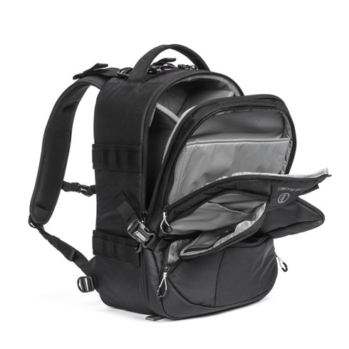 Tamrac anvil 23 pro camera backpack naturescapes store tamrac anvil 23 pro camera backpack opened fandeluxe Image collections