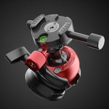 Tripod ballhead with rotating pano clamp UniqBall UBH35P