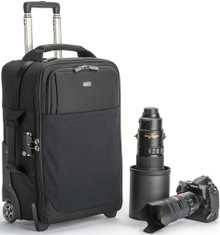 Airport Security v3.0 Rolling Camera Case pictured with gear and handle extended