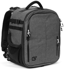 Front and side view of G26 GElite Pro Camera Bag.