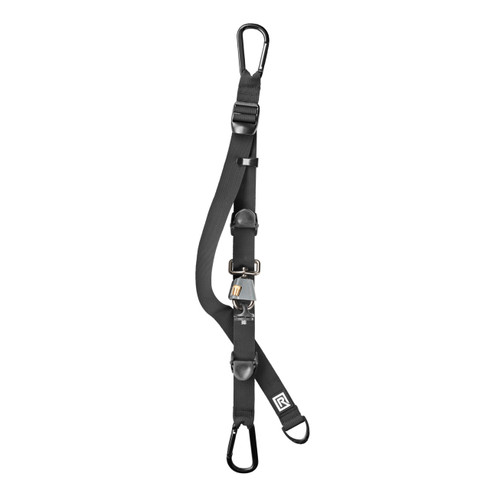 Unattached view of backpack camera strap