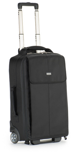 Front view of Airport Advantage Plus Rolling Camera Bag.