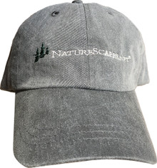 Charcoal cap with embroidered NatureScapes.net logo