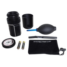 SensorKlear Loupe Kit contains everything you need to keep your camera sensor free and clear from dust.