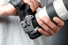 Spider Holster D-ring for Wrist Strap Compatibility